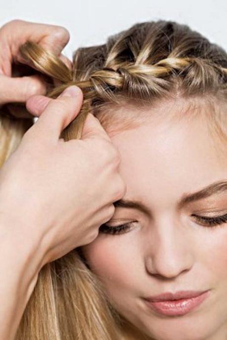 anleitung für frisuren für lange haare