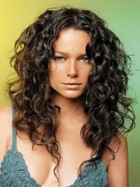 Dauerwelle Lange Haare