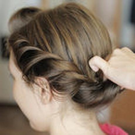 einfache ballfrisuren für lange haare