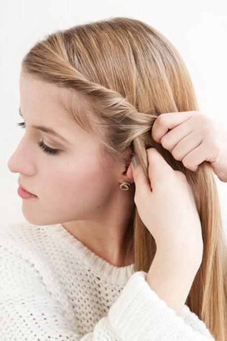 einfache flechtfrisuren kurze haare