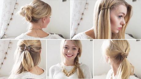 einfache frisuren für schulterlanges haar