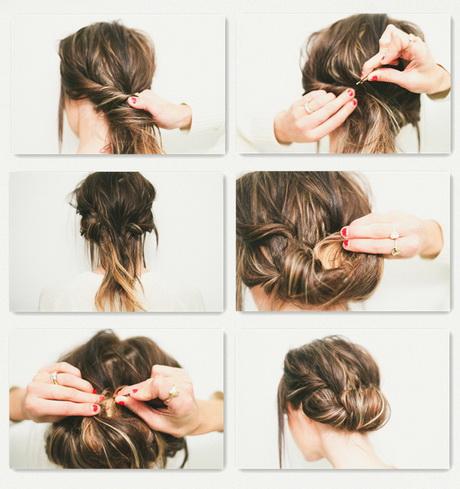 einfache hochsteckfrisuren für kurze haare