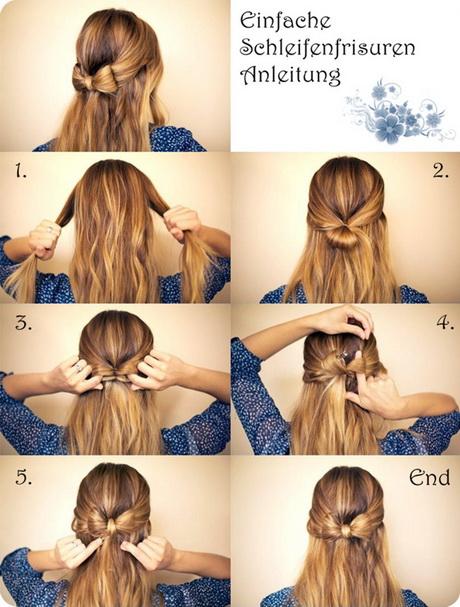 Einfache hochsteckfrisuren lange haare anleitung for Flechtfrisuren selber machen anleitung mittellang