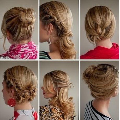 elegante frisur lange haare