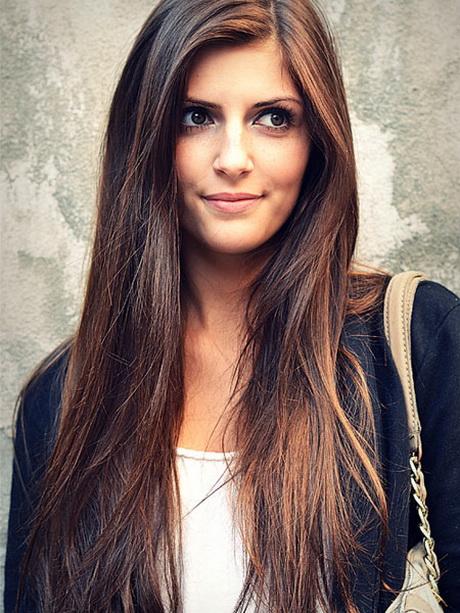 Frisuren 2014 Lange Haare