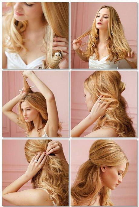 frisuren für lange haare anleitung