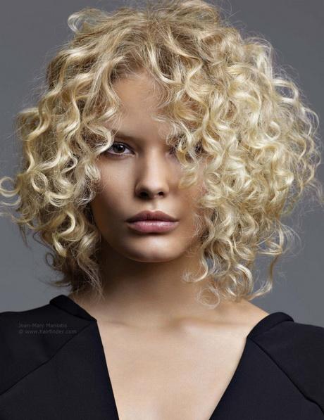frisuren kurze haare locken