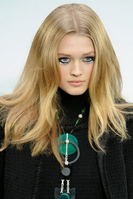 frisuren lange blonde haare