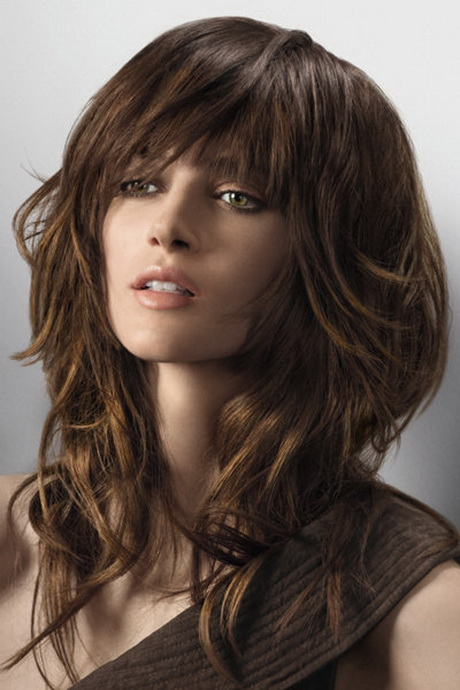 frisuren lange braune haare