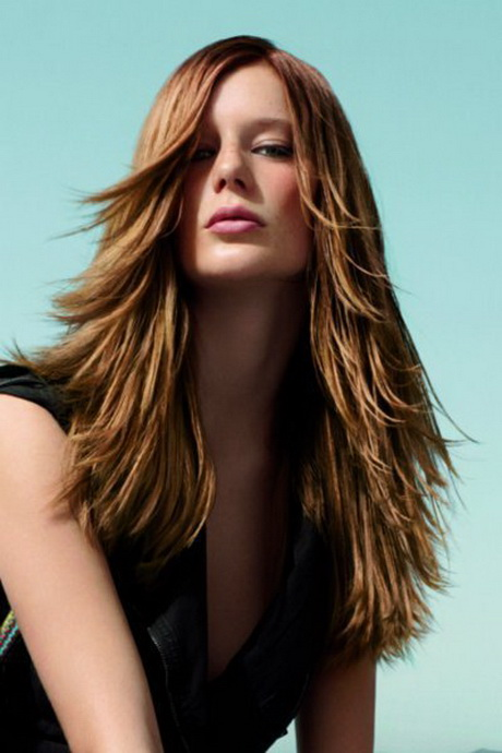 frisuren lange haare braun