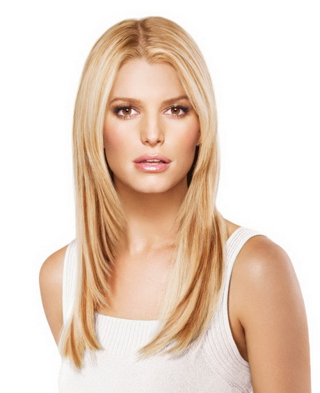 Jessica simpson invisible clip in 41 cm lang