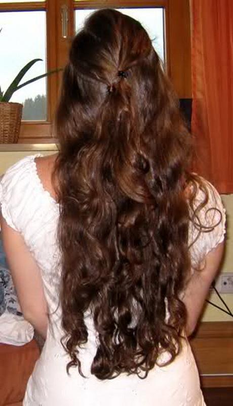 Ganz lange haare