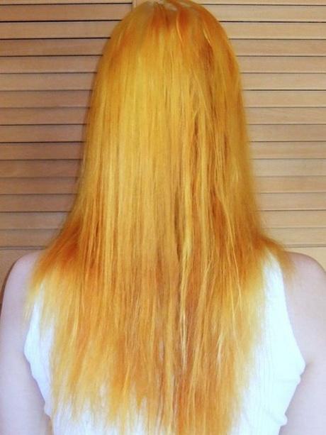Dunkelbraun gefärbte haare aufhellen