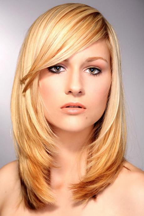 Stufenschnitt für braunes haar