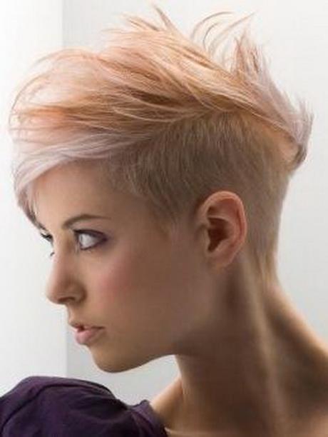 Kurze Haare Färben