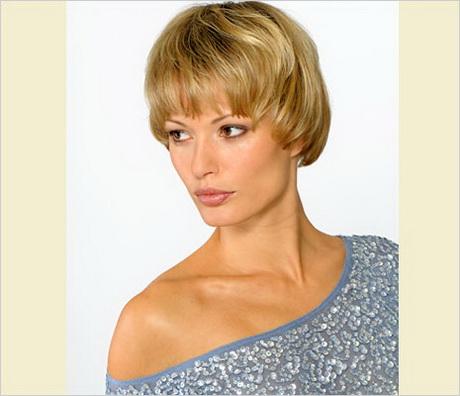 Pilzkopf Frisur Damen