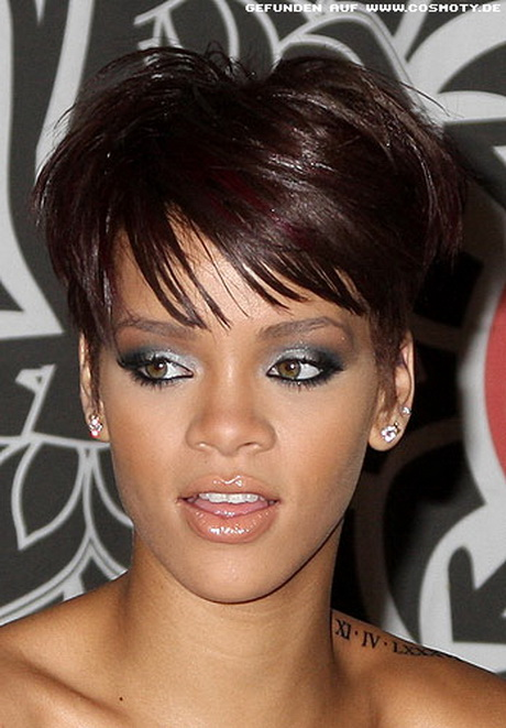 rihanna frisuren kurz. Black Bedroom Furniture Sets. Home Design Ideas