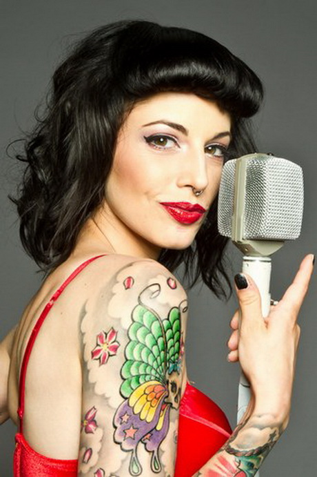Rockabilly Frisuren Damen