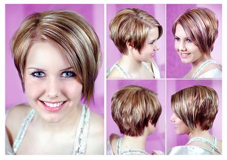 rundes gesicht kurze haare