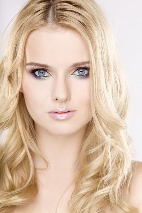 Schminktipps blonde haare blaue augen