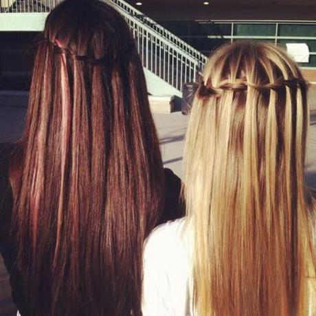 schöne einfache frisuren für lange haare