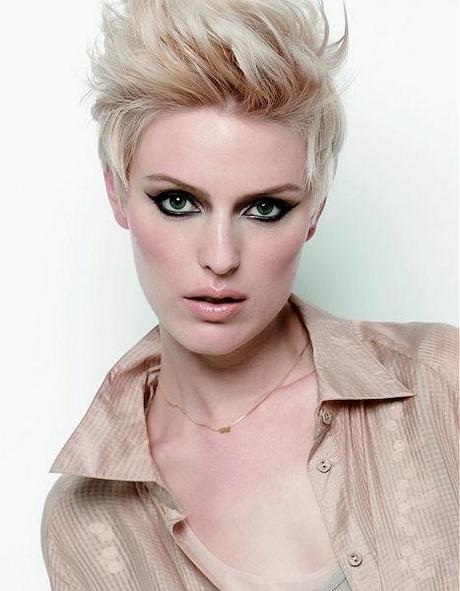 kurzhaar frisuren in blond