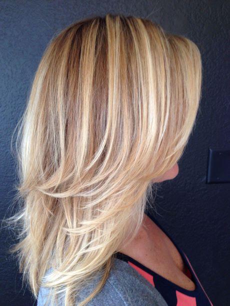 Blonde haare frisuren 2021