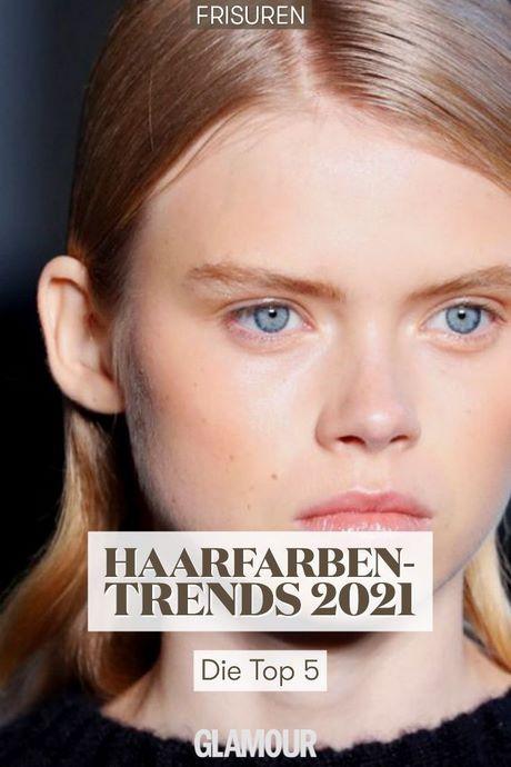 Haarfarben trend 2021 sommer