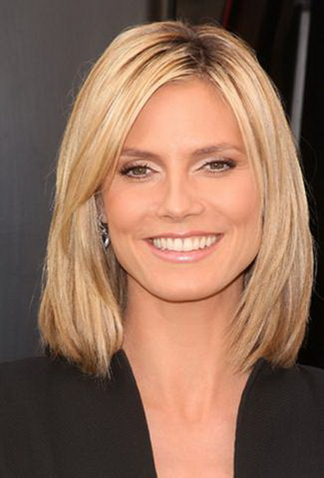 Medium Length Layered Hairstyles For Fat Face