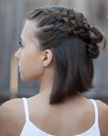 kurze haare zopf