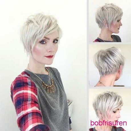 Trend kurzhaarfrisuren damen 2017 - Fringe Hairstyles