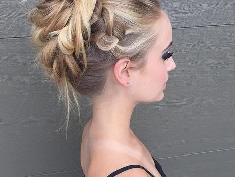 einfache flechtfrisuren für dünne haare