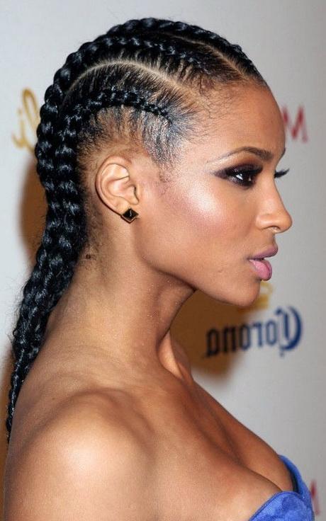 Afrikanische Geflochtene Haare