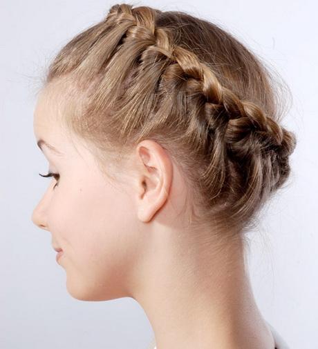 Flechtkranz Haare