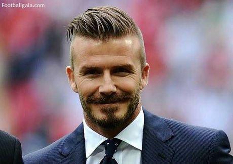 David Beckham Frisur Stylen