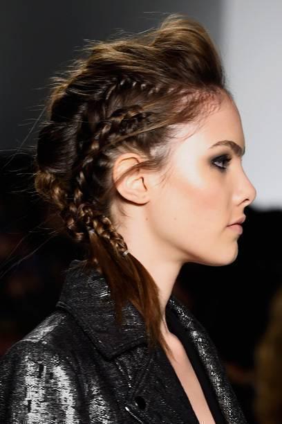 irokese lange haare