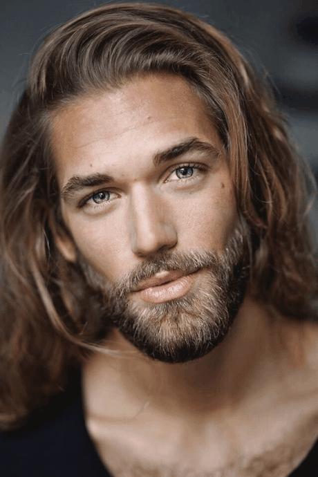 Männer frisuren lange haare
