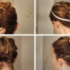 Alltags frisuren mittellanges haar
