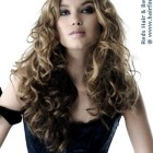 Locken frisur lang