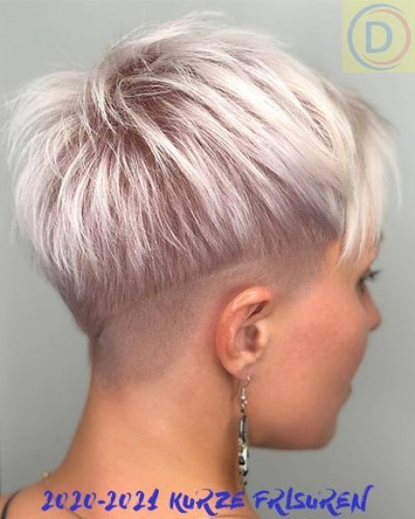Frisuren pixie cut 2021
