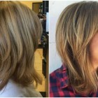 Frisuren 2019 mittellang gestuft