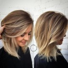 Frisuren 2018 blond mittellang
