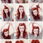 Rockabilly frisur locken