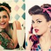 Rockabilly hairstyle frauen